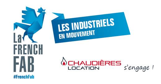 Chaudières Locaiton membre de la French Fab