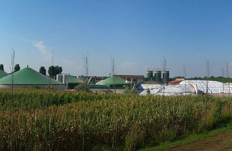site de biogaz