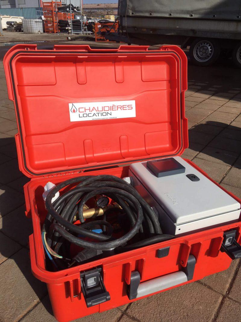Chaudière électrique 2-4-6kW Buzz transport