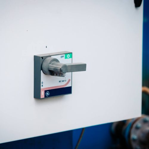 Chaudière électrique 60kW bouton
