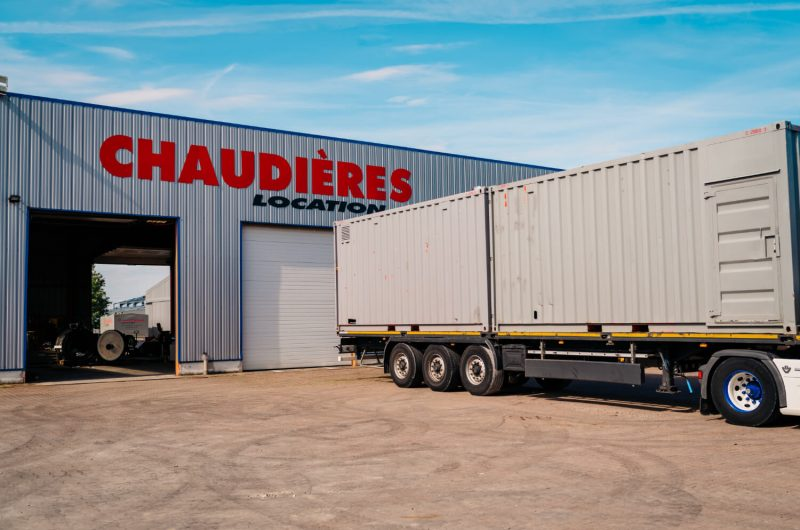Service chaudière transport camion