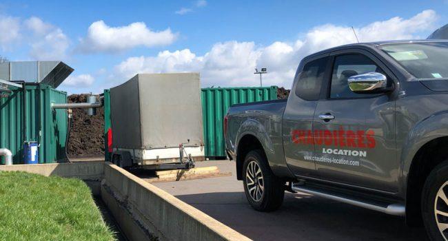 Transport rchaudière emorque pick up