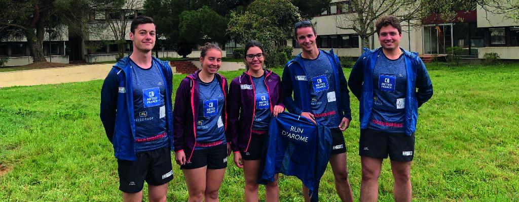 L'équipe de Run d'Arome