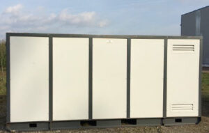 chaudiere fioul container 250kw